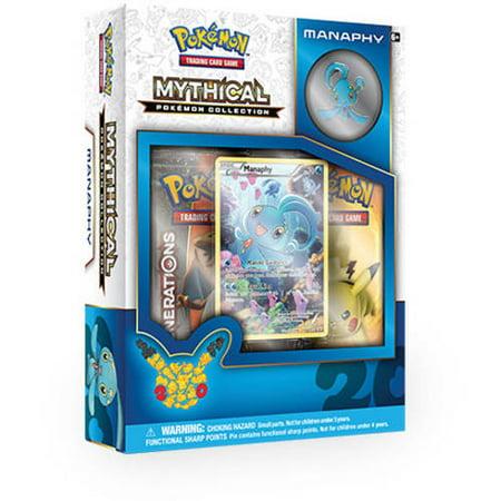 Pokemon Mythical Manaphy Pin Box - Manaphy Pokemon Diamond Pearl