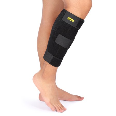 VGEBY Calf Shin Support Brace,Adjustable Calf Brace Compression Leg Sleeve Wrap Band for Running,Sports Great Shin Support Improves Blood Circulation & Reduces Leg Swelling