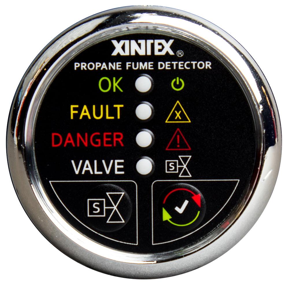 XINTEX P-1CS-R PROPANE FUME DETECTOR, 1-CHANNEL, W/ SENSOR
