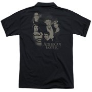 The Munsters American Gothic (Back Print) Mens Polo Shirt