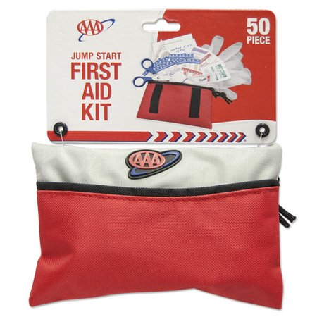 Image of AAA Soft Sided Glove Box First Aid Kit -50 Piece