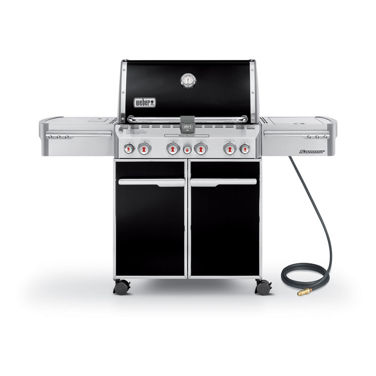 Summit E-470 Gas Grill NG Black by Weber-Stephen Products Co