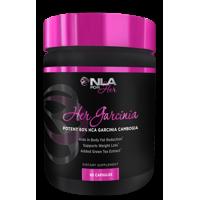 NLA for Her 60% HCA Her Garcinia Weight Loss Veggie Ctules, 60 Ct
