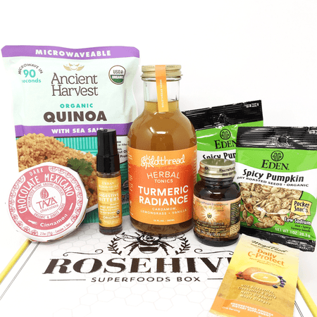 "Rosehive Superfoods ""Winter Warming"" Box, Vegan"