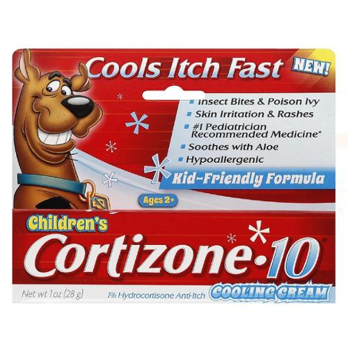 Cortizone-10 Anti-Itch Children's Cooling Cream 1 oz (Pack of 2)