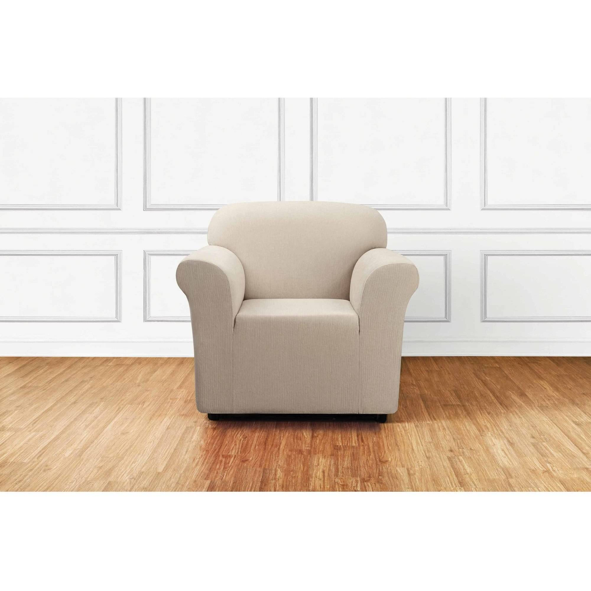 Sure Fit Utimate Stretch Chenille 1-Piece Chair Slipcover