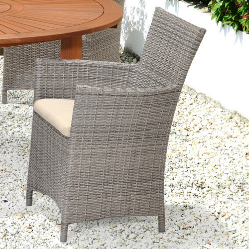 Wildon Home  Baker Lounge Chair with Cushion (Set of 2)
