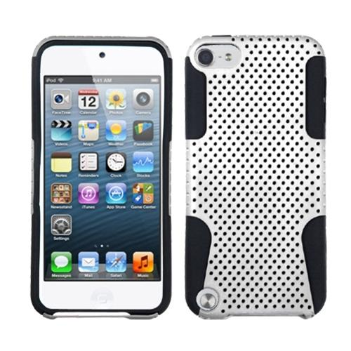 Insten White/Black Astronoot Phone Case for iPod touch (5 5G 5th 6 6G 6th Gen)