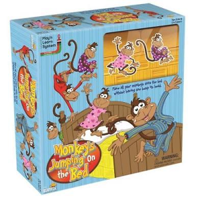 University Games Five Little Monkeys Jumping on Bed Game by