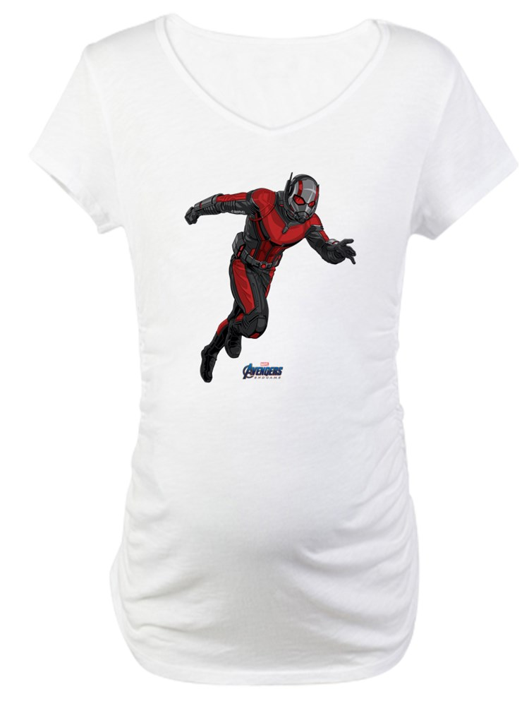 CafePress - Ant Man Maternity T Shirt - Cotton Maternity T-shirt, Cute & Funny Pregnancy Tee