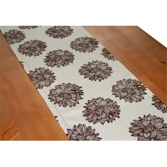 A Greener Kitchen Organic Cotton Table Runner - Evelyn