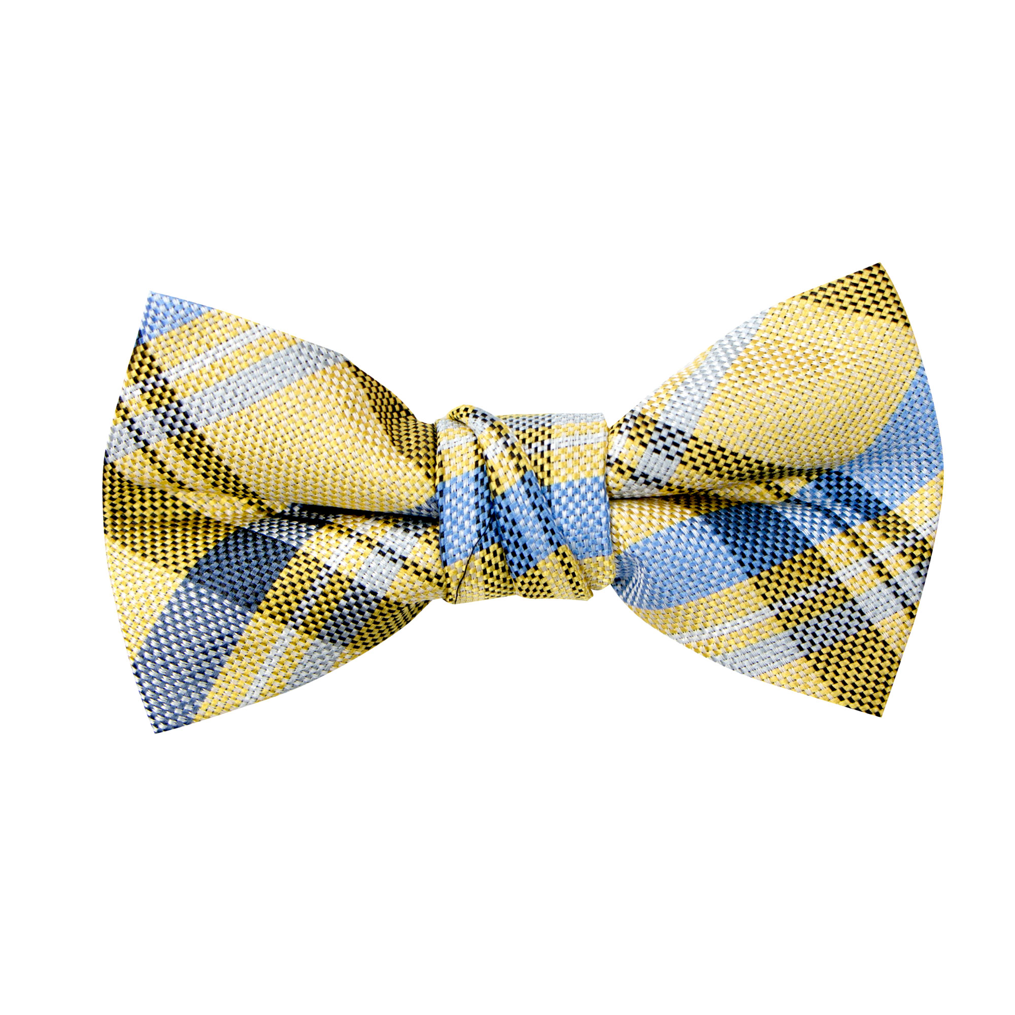 Spring Notion Boys Dotted Camoflouge Woven Bow Tie