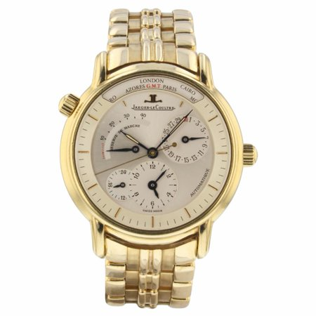 Pre-Owned Jaeger Lecoultre Master Compressor 169.1.92 Gold  Watch (Certified Authentic & Warranty)