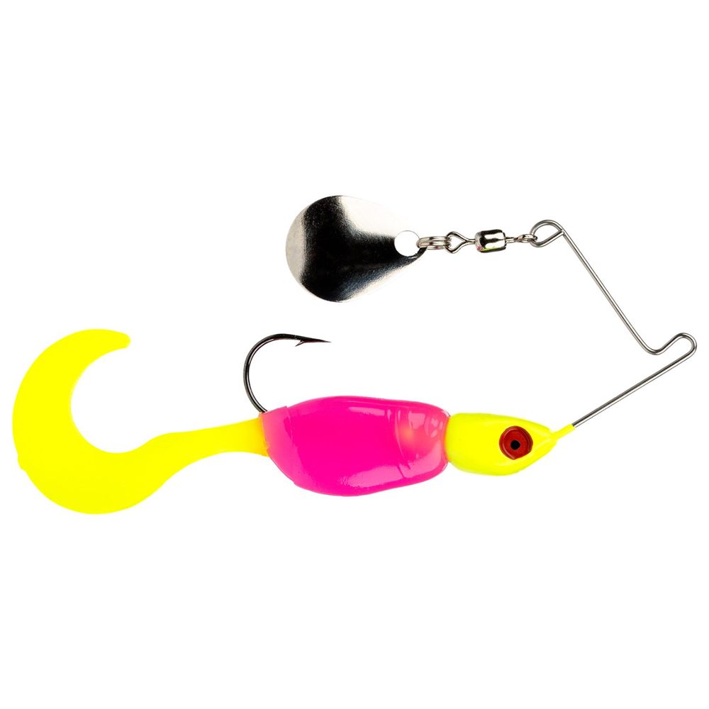 Strike King Lures Mr. Crappie Spin Baby Lure 1/8 oz, #4 Hook,...
