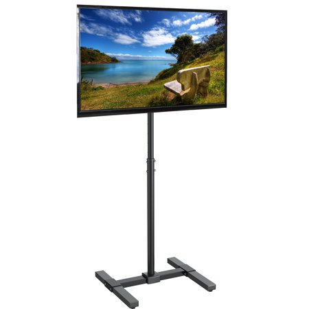 Flat Panel Floor Mount (VIVO Display TV Floor Stand Height Adjustable Mount for Flat Panel Screen 13