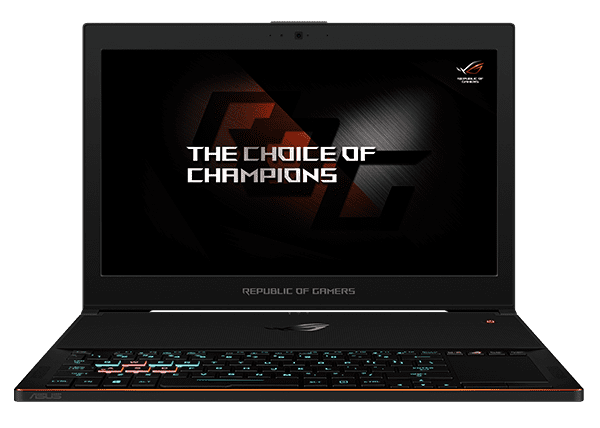 "HIDevolution Asus ROG Zephyrus GX501VI-XS74-HID5 Black 15.6"" w  IC Diamond Thermal Compound on CPU+GPU � Optimal... by ASUS"