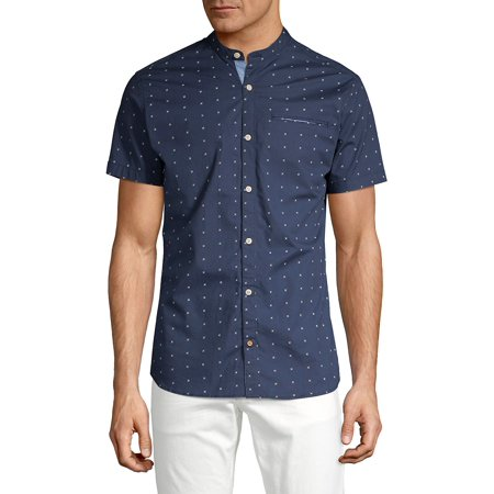 Dotted Short-Sleeve Shirt (Dkny Graphic Dots)