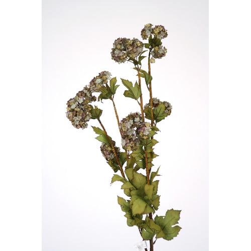 Distinctive Designs DIY Flower Antique Snowball Branch (Set of 12)