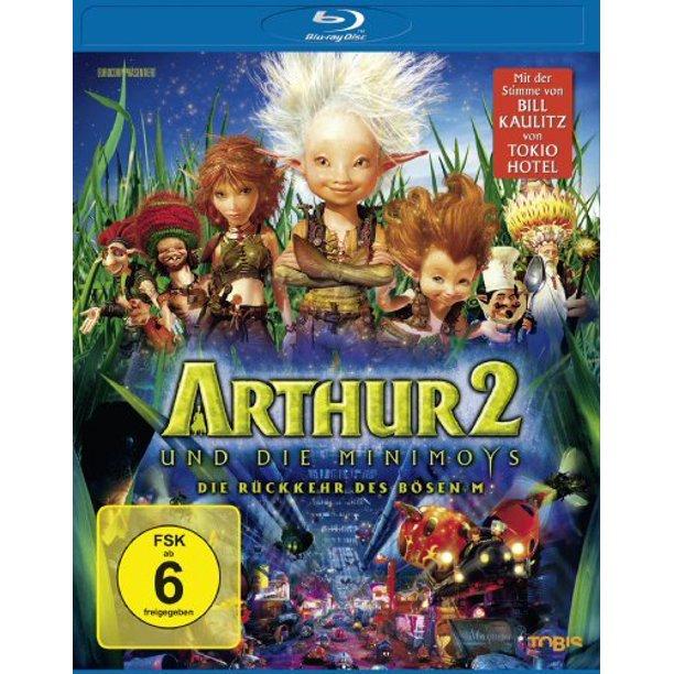 Arthur And The Invisibles 2 Ger Arthur Et Les Minimoys Arthur And The Invisibles Two The