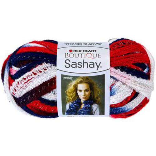 Red Heart Boutique Sashay Yarn, Available in Multiple Colors