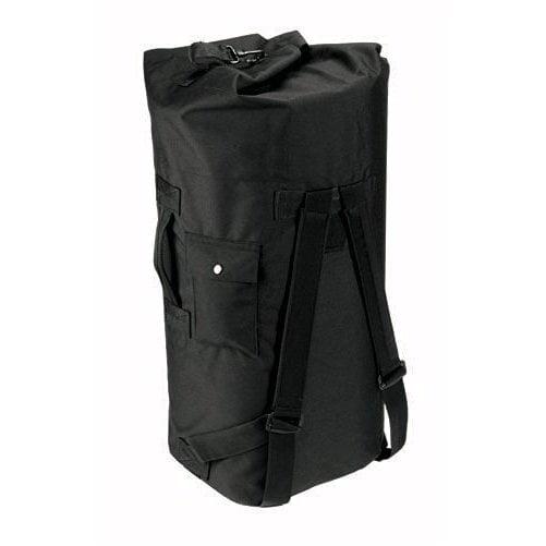 Rothco Gi Type Double Strap Duffle Bag, Black by Rothco
