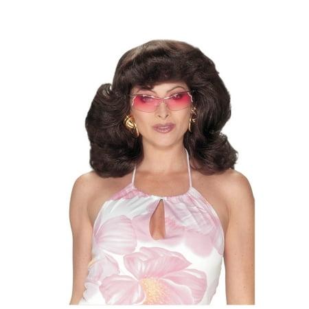 ANGELS 70S DARK BROWN WIG - Charlies Angels Wigs