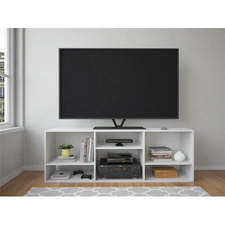 TV Stand or Bookcase Combo, For TV's up to 60″, White