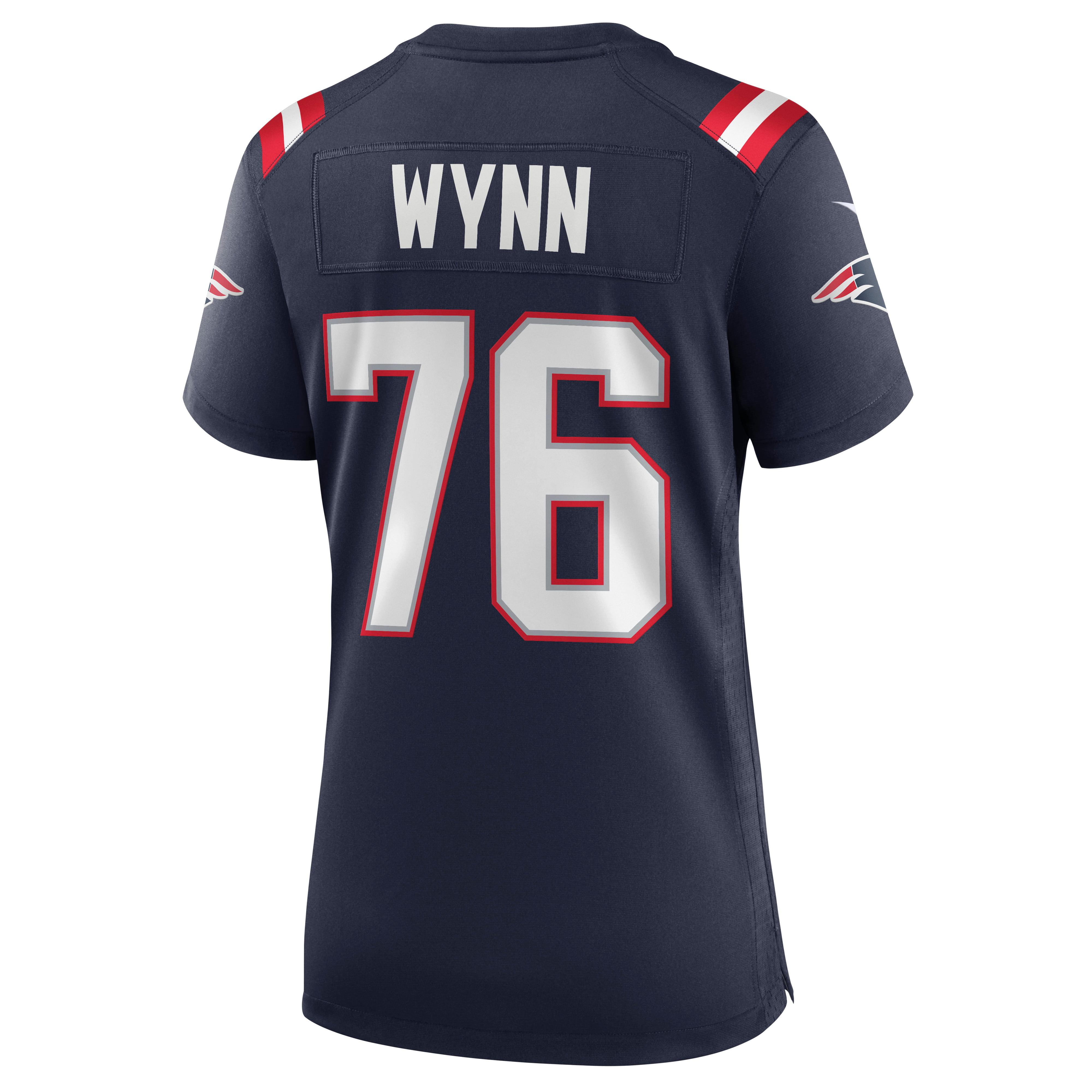 Isaiah Wynn New England Patriots Nike Women's Game Jersey - Navy
