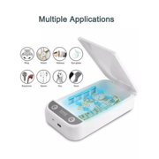 Multi-functional UV light Sterilizer Sanitizer Disinfection Box for Mask Phone with USB charge