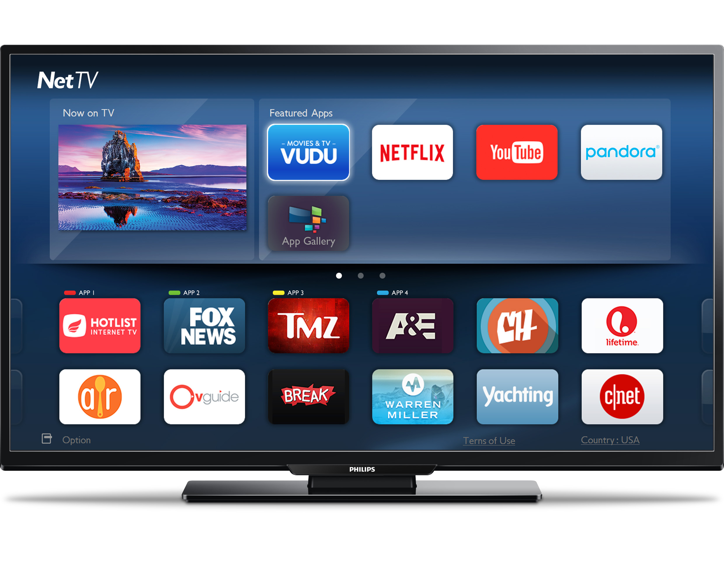 How to hook up philips smart tv to wifi