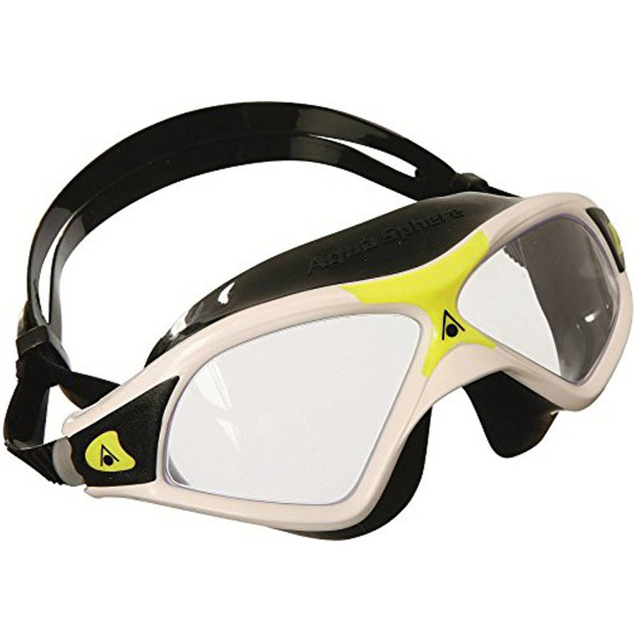 Seal XP 2 Mask, Clear Lens, White