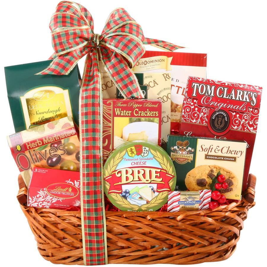 Alder Creek Gift Baskets Alder Creek Happy Holidays Gift Basket