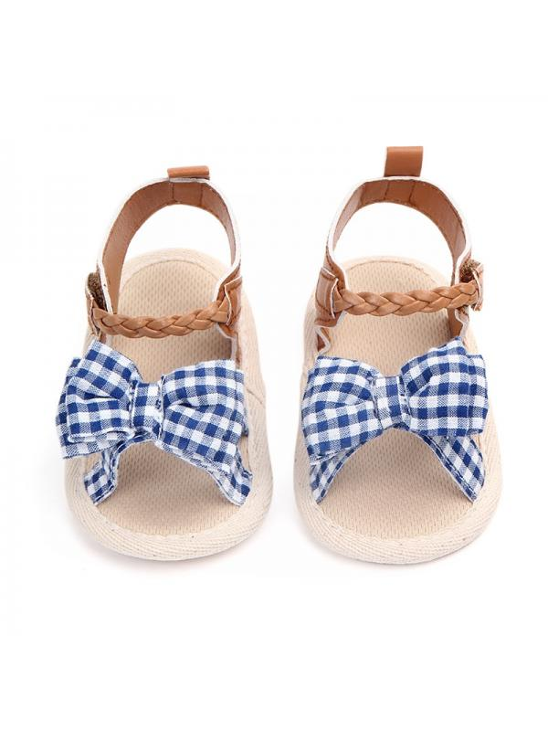 Cute Baby Infant Sandals Lovely Toddler Summer Shoes Anti-slip Sole for 0-18M