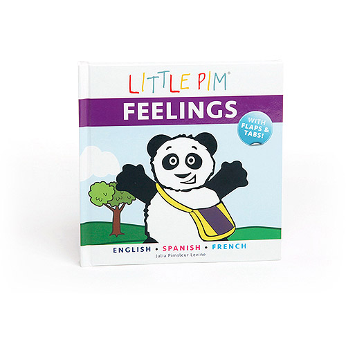 Little Pim Feelings Tri-Lingual Book, English, Spanish and French