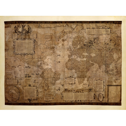 Evive Designs Map Of The World C 1500 S By Mercator Gerhardt