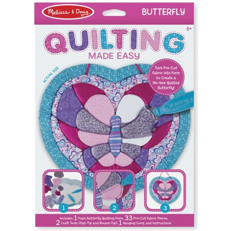 Melissa and Doug Quilting Made Easy, Butterfly
