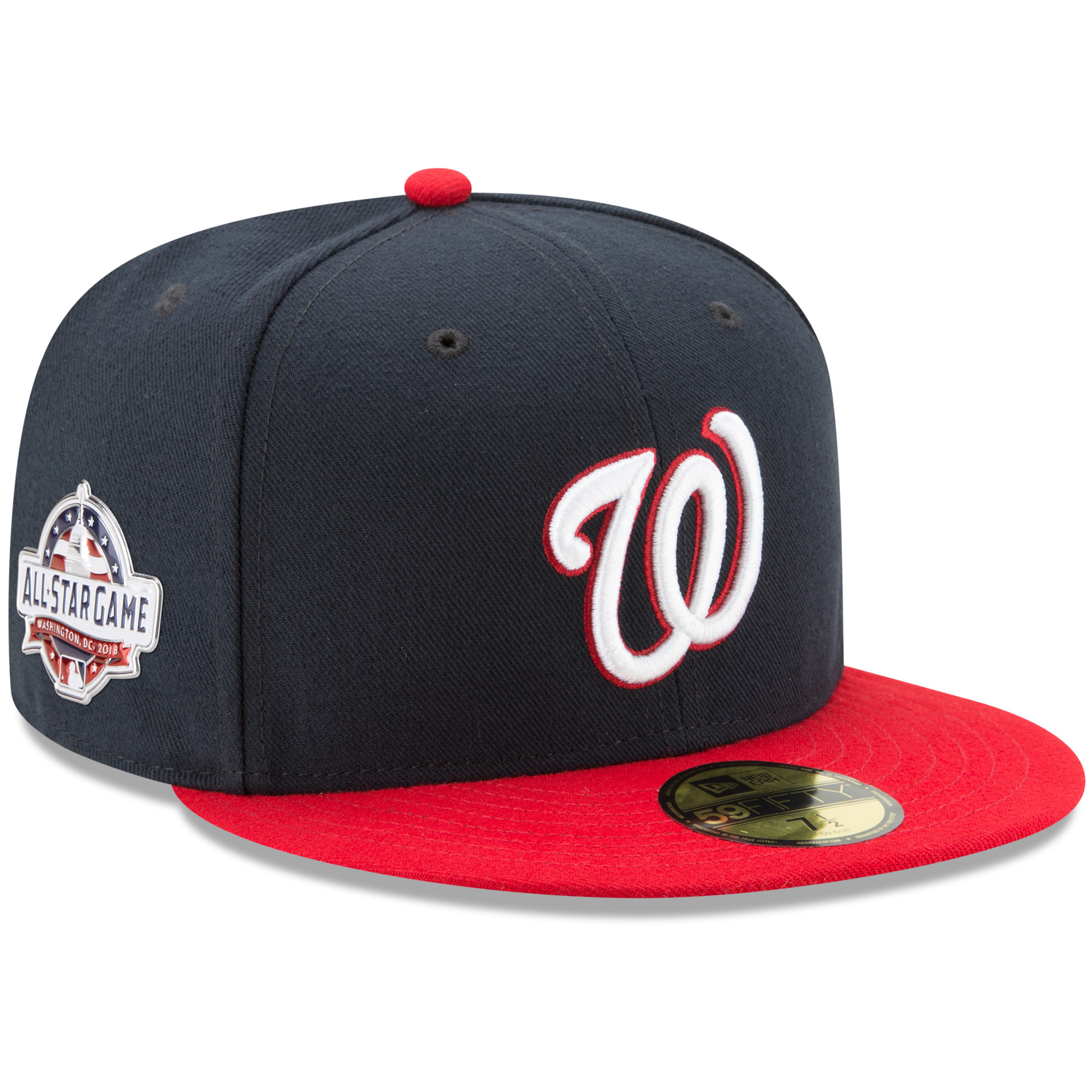 Washington Nationals New Era All-Star Game Alternate Authentic Collection On-Field 59FIFTY Fitted Hat - Navy