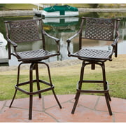 Lakeside Bar Stool in Copper - Set of 2
