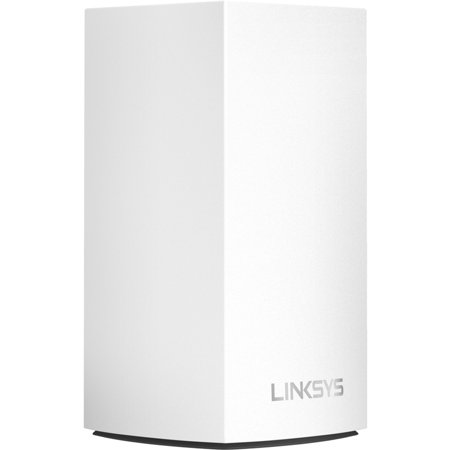 Linksys Velop Dual Band Intelligent Mesh WiFi System, White, 1 Pack (AC1200)