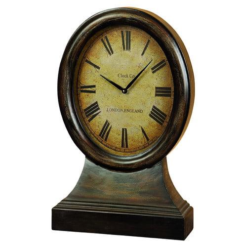 Decmode Wood Clock, Multi Color