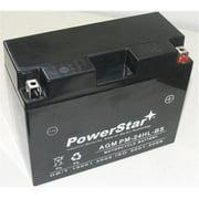 PowerStar PM-24HL-BS-F120020D2 Battery Plus Charger Ytx24Hl-Bs Harley Davidson Fl Honda Goldwing Yamaha Indian