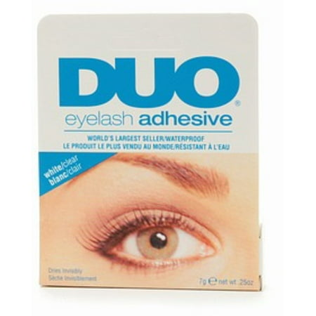 Duo Water Proof Eyelash Adhesive, Clear-White 1/4