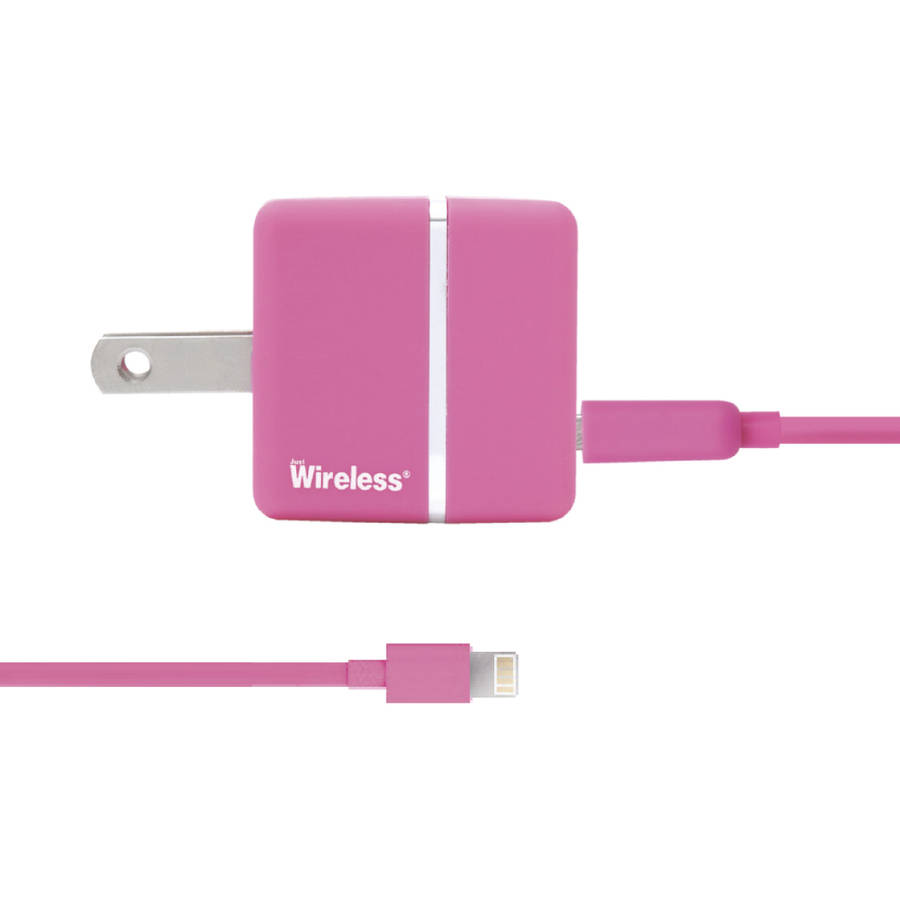 walmart iphone 5 charger just wireless apple iphone 5 ac charger usb pink 16442