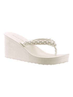 8cbd30ac68756e Product Image Women s Touch Ups Shelly Thong Wedge Sandal