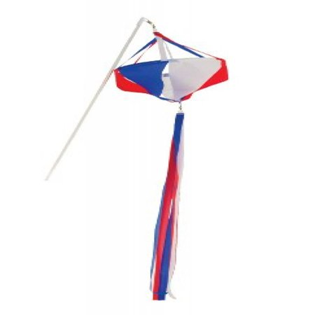 In the Breeze 6-Pack Patriot Spinnie on a Wand, - Patriots Birthday