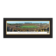 """Missouri Tigers 18"""" x 44"""" 50-Yard Line Deluxe Framed Panoramic Wall Art - No Size"""
