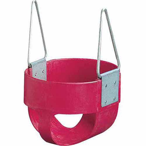 GameCraft 360 Enclosed Swing Seat, Silver/Red