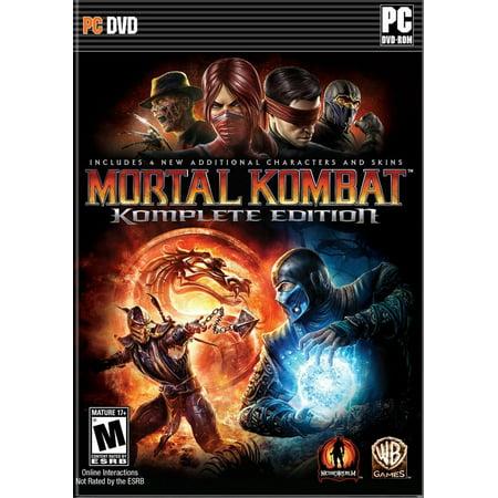 Mortal Kombat Komplete Edition (PC) (Email (Mortal Kombat Komplete Edition Cheats Ps3 Freddy)