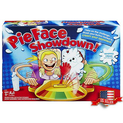 Pie Face Showdown Game Family Fun Board - Fun Cheap Halloween Games