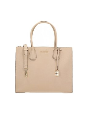 4914581d7d20 Product Image Michael Kors Women's Mercer Large Leather Tote Bag Fawn OS